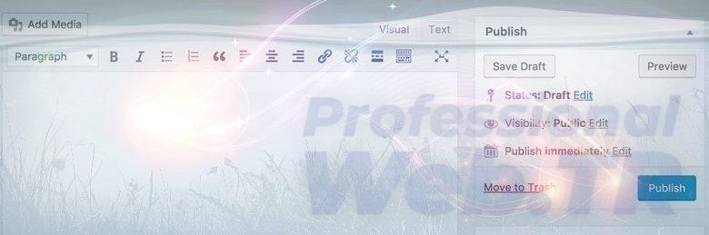 wordpress klasik editör